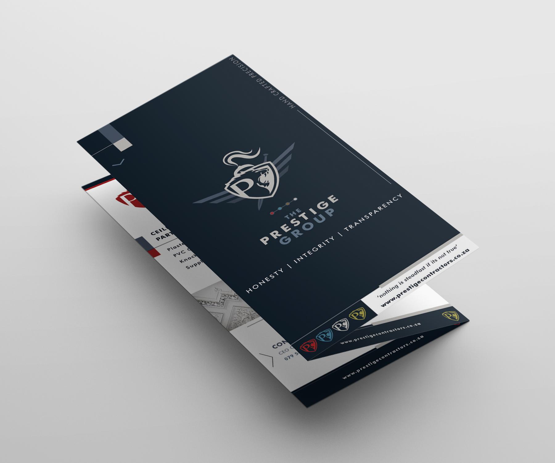 Prestige Brochure Design – Volstruis